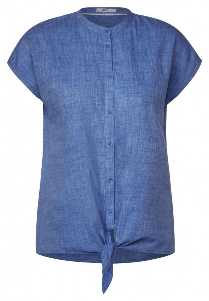 Bluse mit Knotendetail