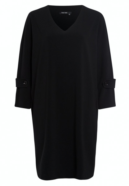Kleid aus fließendem Crepe