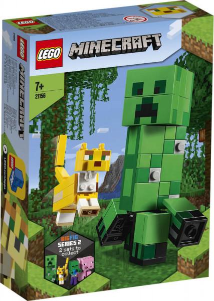 Minecraft 21156 BigFig Creeper und Ozelot