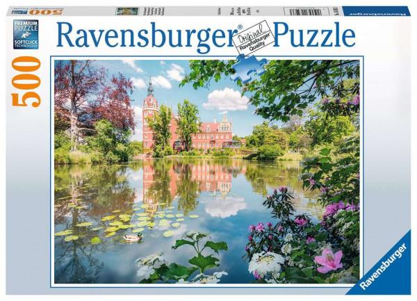 Puzzle Märchenhaftes Schloss Muskau