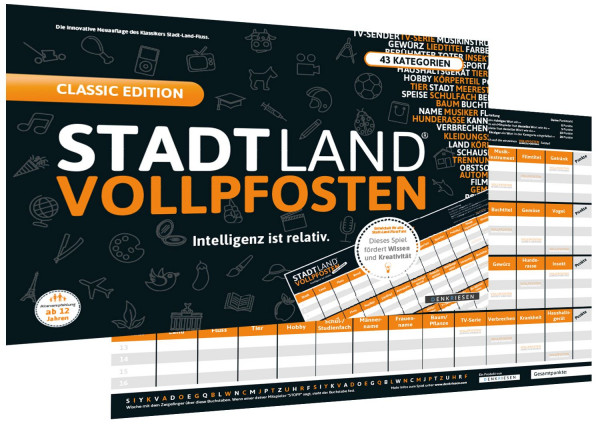 Stadt, Land, Vollpfosten Classic Edition