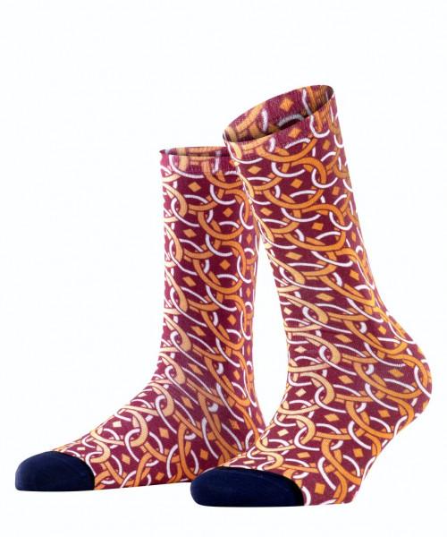 Socken Paisley Print