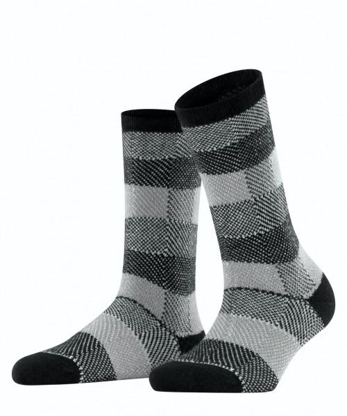 Socken Plaid Look