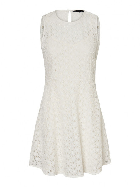 VMALLIE LACE S/L SHORT DRESS NOOS