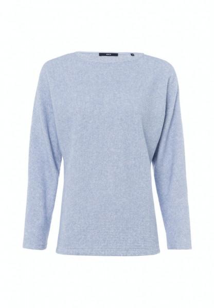Sweatshirt mit U-Boot Ausschnitt