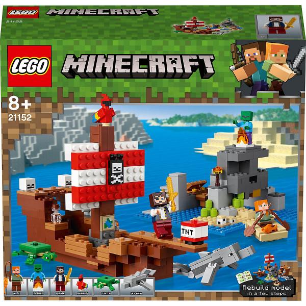 MinecraftT 21152 Das Piratenschiff-Abenteuer