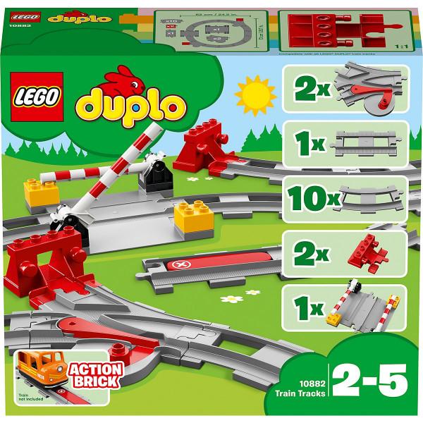 DUPLO® 10882 Eisenbahn Schienen