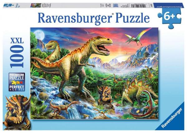 Puzzle Bei den Dinosauriern