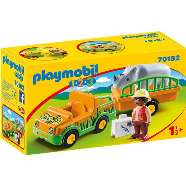 70182 Zoofahrzeug mit Nashorn