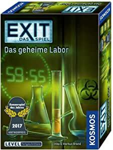 Kosmos Exit Spiel Das geheime Labor