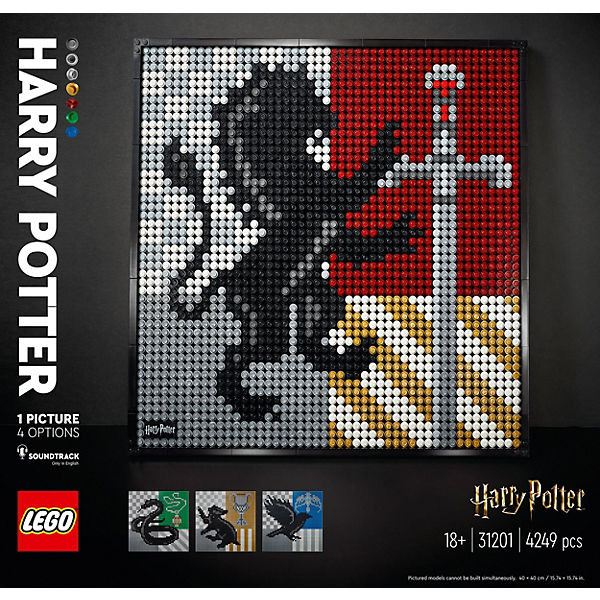Art 31201 Harry Potter Hogwarts Wappen