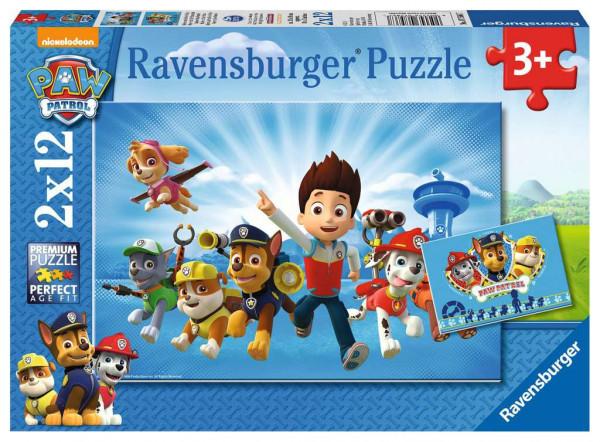 Puzzle Ryder und die Paw Patrol