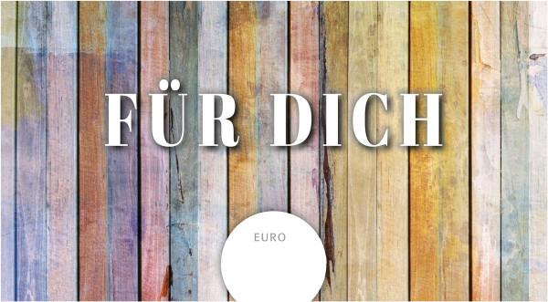 """Gutschein """"Für Dich"""""""