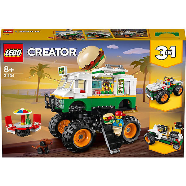 Creator 31104 Burger-Monster-Truck