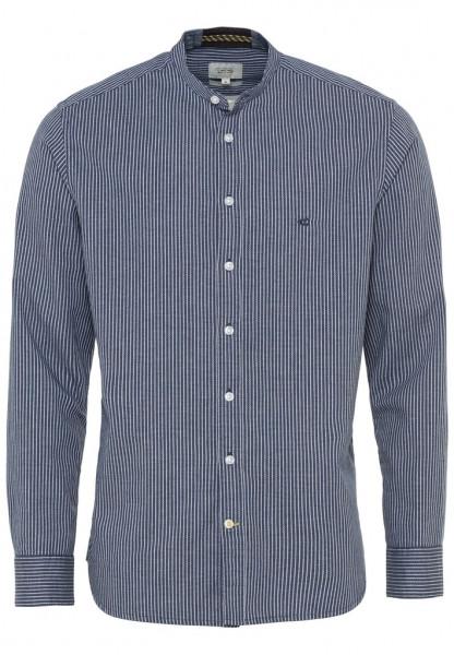 Modernes Langarm Hemd mit Oxford Streifen