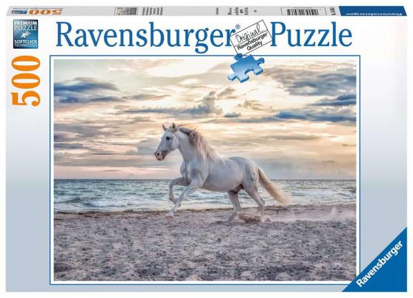 Puzzle Pferd am Strand