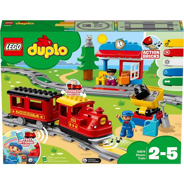 DUPLO® 10874 Dampfeisenbahn