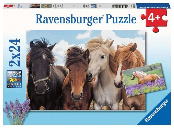 Puzzle Pferdeliebe