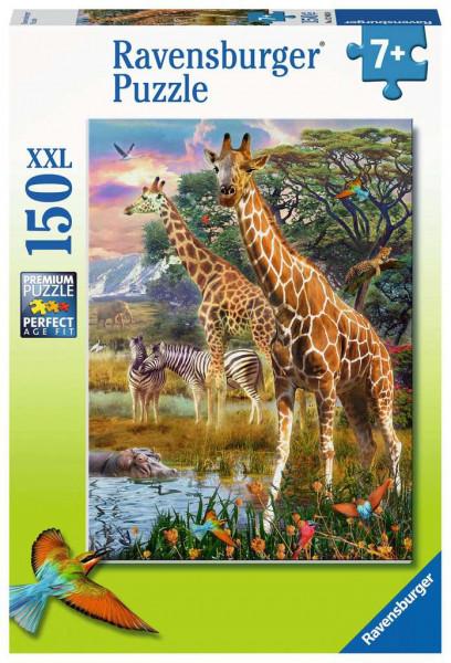 Puzzle Bunte Savanne