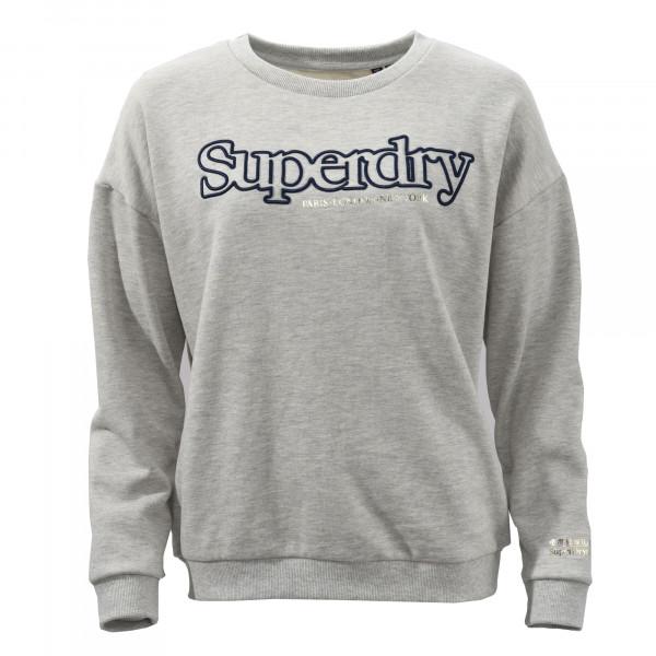 Sweatshirt mit Rundhalsauschnitt