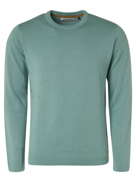 Pullover Crewneck Relief Garment Dyed + Stone Washed