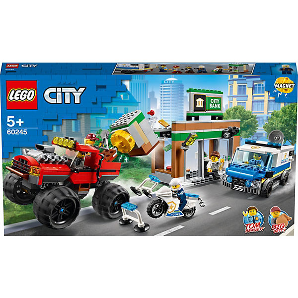 City 60245 Raubüberfall mit dem Monster-Truck