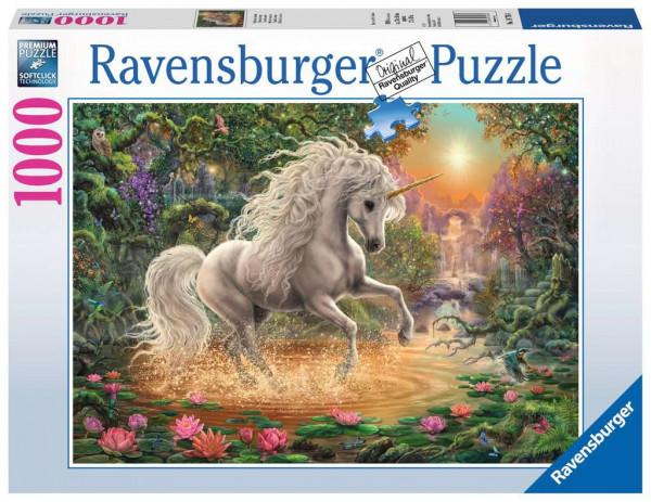 Puzzle Mystisches Einhorn