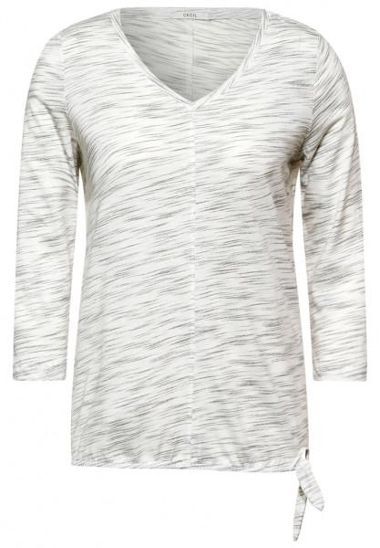 Shirt in Melange Optik