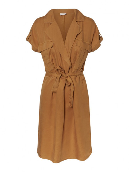 NMVERA S/S ENDI TENCEL SHIRT DRESS CLR